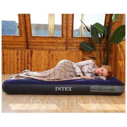Inflatable Dura-Beam Standard Classic Downy Air Bed