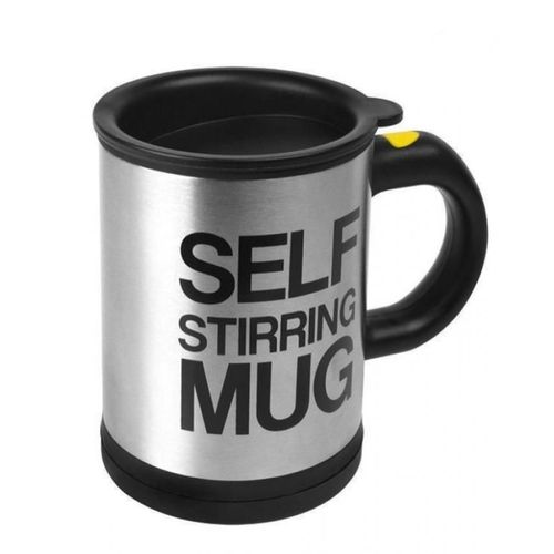 Self Stirring Mug- Black