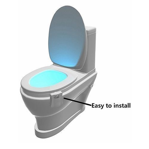 Bowl Light Motion Activated LED Night Light With 8 Color