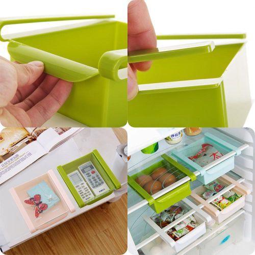 Refrigerator Drawer Storage Box Fridge Organizer Fridge Storage Rack