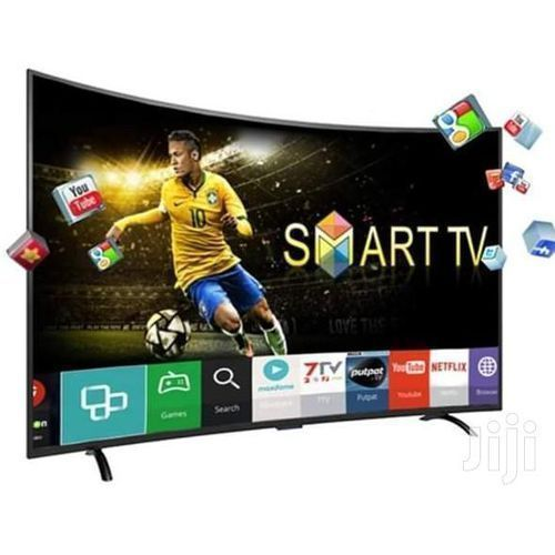 "32"" INCH SMART CURVED LED TV +Wall Bracket 2020 MODEL"