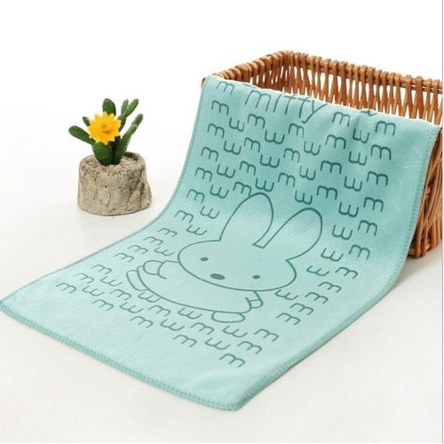 Cartoon Absorbent Baby Towel Child Face Wash Towel