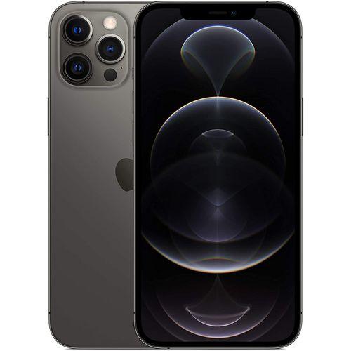 IPhone 12 Pro Max - 256GB + 6GB RAM, 6.7-Inch,(12MP+12MP+12MP)-5G, Graphite
