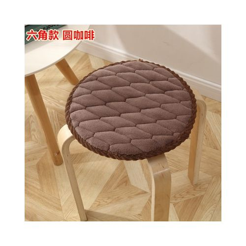 Modern Style Round Seat Home Office Comfortable Cushions
