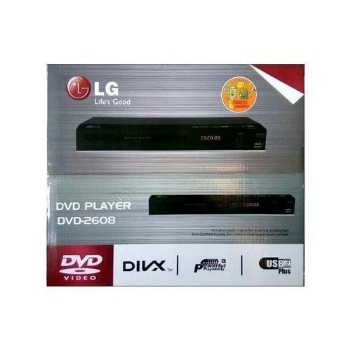 LG DVD Player DV 2608 USB Black- STRONG