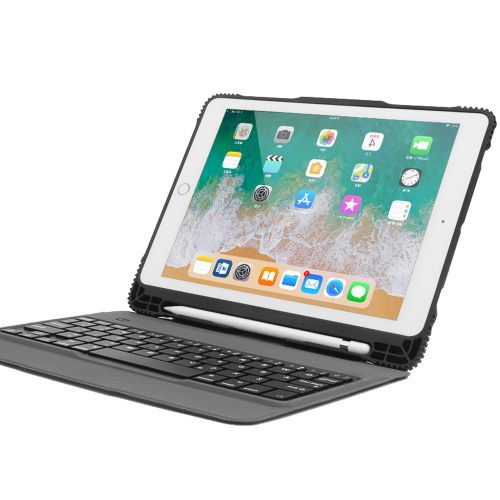 Equivalentt Detachable Keyboard Case Smart Cover For IPad 9.7 2017/2018 Pro Air 2/1