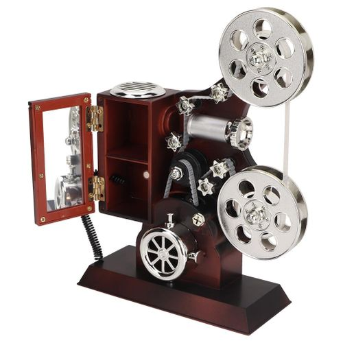 Antique Engraved Music Box Vintage Musical Box Projector Music Box For Children Birthday Gift