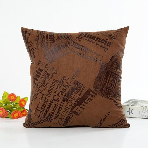 Printing Dyeing Sofa Bed Home Decor Pillow Case Cushion Cover CO
