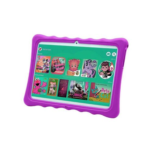 "K11 Kids Tablet-Dual Sim-10.1"" -1GB RAM-16GB ROM Plus Free Pouch Inside And Gifts"