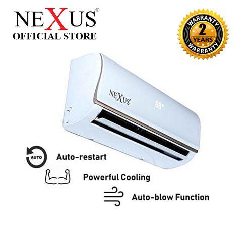 2HP NX-MSAF18000CR Split AC - White with Installation Kit
