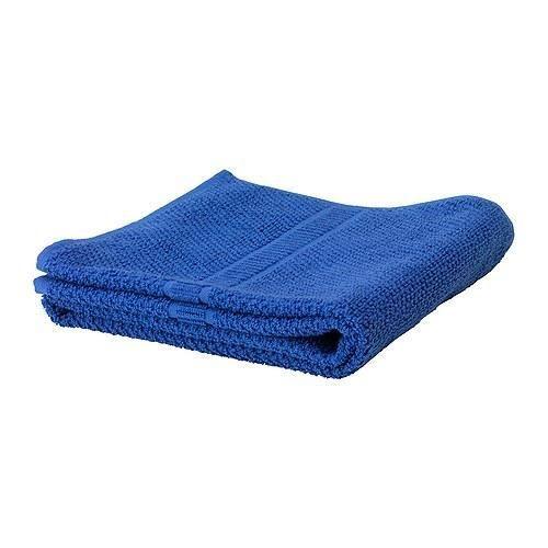 Secret Rose Microfibre Bath Towels - Dolphin Blue
