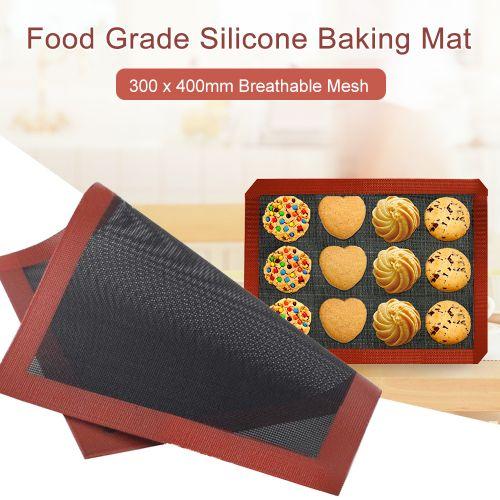 Food Grade Silicone Baking Mat 300 X 400mm Half Sheet Mat