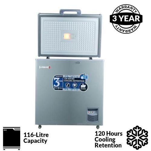 Scanfrost Chest Freezer SFL151M - Grey