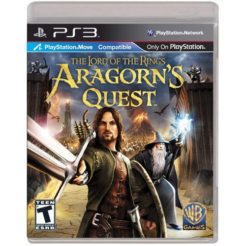 The Lord Of The Rings:Aragorns Quest Ps3