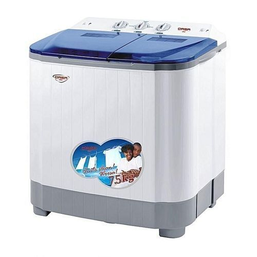 Washing Machine - 8.8kg, Washing 5kg, Spinning 3.8kg- White