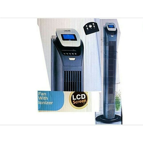 """43"""" Tower Fan With LCD Display And Remote Control"""