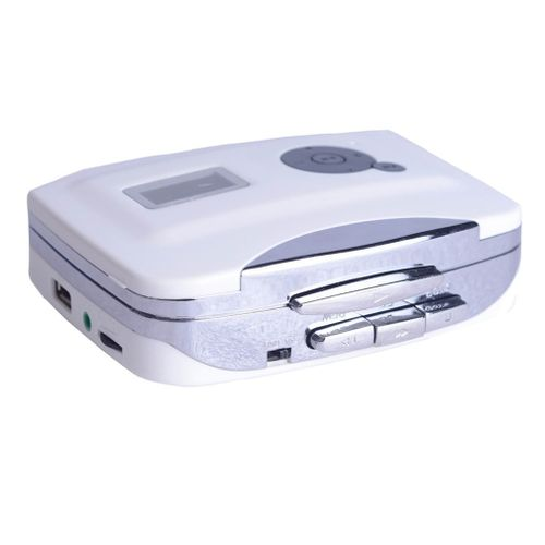 TA Drive U Disk Cassette Player Tape To Mp3 Usb-White