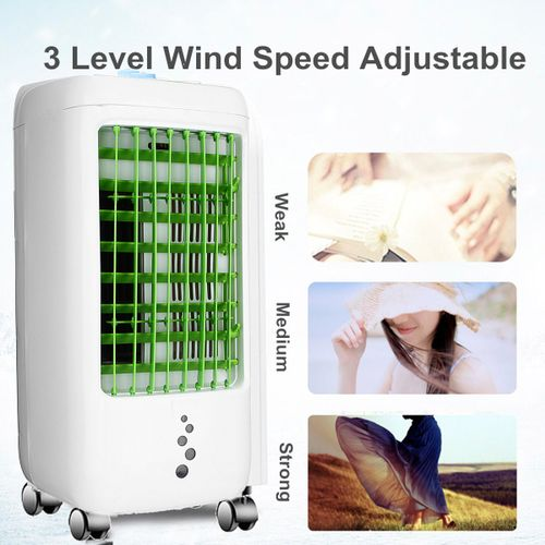 220V Air Conditioner Personal Space Cooling Ice Fan Humidifier Cooler Portable