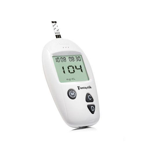 Blood Glucose Meter -Meter + 10 Free Strips + 10 Free Lancet