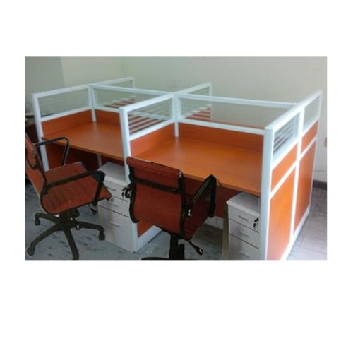 4 Seats Office Workstation (Delivery In Lagos, Ibadan, Ogun, And Port Harcourt Only)