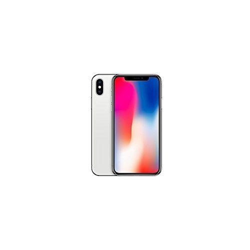 IPhone X 5.8-Inches Super AMOLED (3GB RAM, 64GB ROM) IOS 11.1.1, (12MP + 12MP) + 7MP 4G LTE Smartphone - Silver