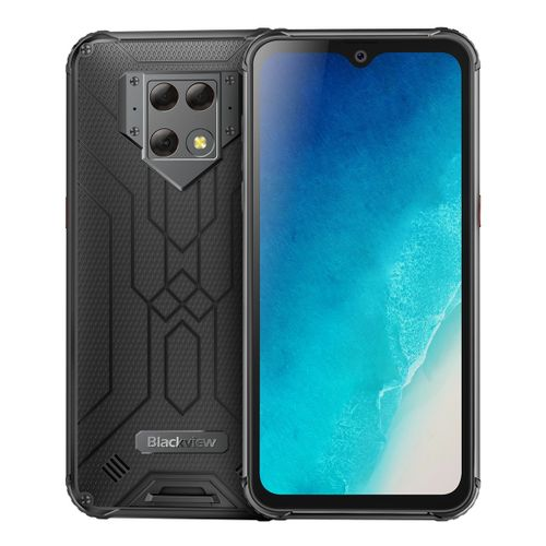 BV9800 Rugged Phone 6GB+128GB 6.3 Inch Android 9.0 Pie 4G Smartphone - Black