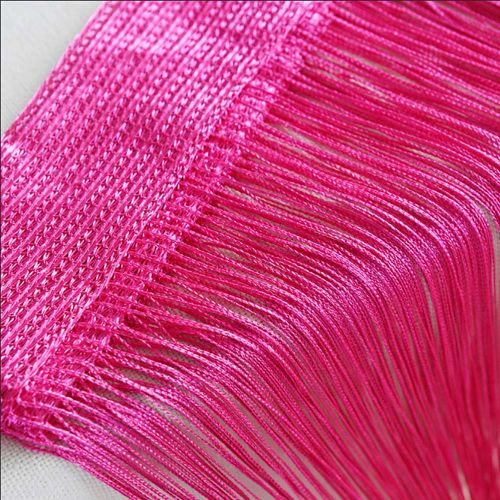 Householding Supplies String Curtains Patio Net Fringe For Door Fly Screen Windows Divider Cut To Size-As Picture