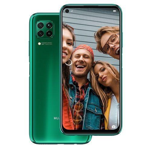 P40 Lite 6.4-Inch (6GB RAM + 128GB ROM) Android 10, (48MP + 8MP + 2MP + 2MP) + 16MP Dual SIM - Crush Green