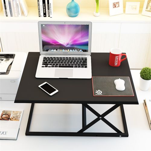 Laptop Desk Office Mobile Table Alternate Computer Stand Lift Table