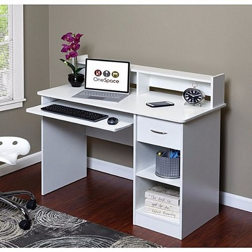 Callan 2 - Computer Desk Off-White( Delivery Within Lagos, Ogun And Oyo Only)