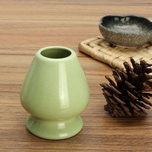 Matcha Whisk Holder Ceramic Chasen Stand Japanese Tea Bamboo Tealyra Whisk