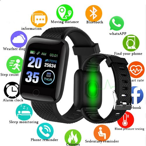 Smart Watches Heart Rate Watch Smart Wristband Sports Watches Smart Band Waterproof Smartwatch Android