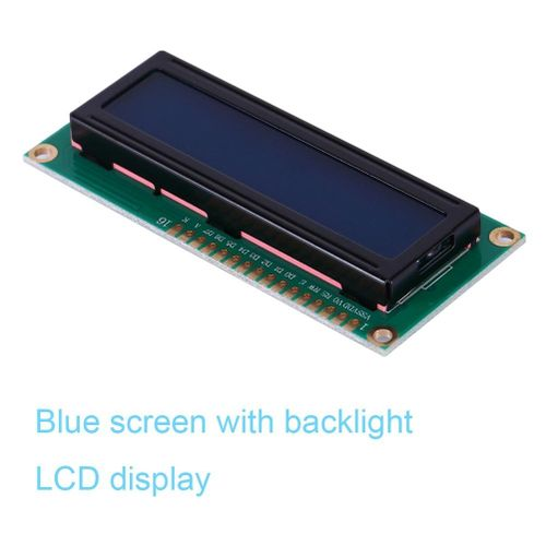 1602 LCD Display Module Blue Screen With Blacklight For Networking Equipment