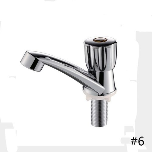 1PC Toilet Basin Mixer Sink Faucet With Single Handle Plastic Quick Opening Used By Kitchen Bathroom Water Faucet Tap