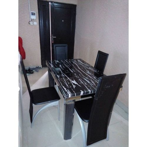 4 Seater Marble Dining Set Furniture
