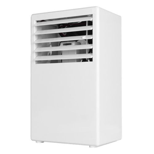 Portable 24W Spray Air Conditioning Fan Table Mini Humidifier 3 Speed Cooling - White
