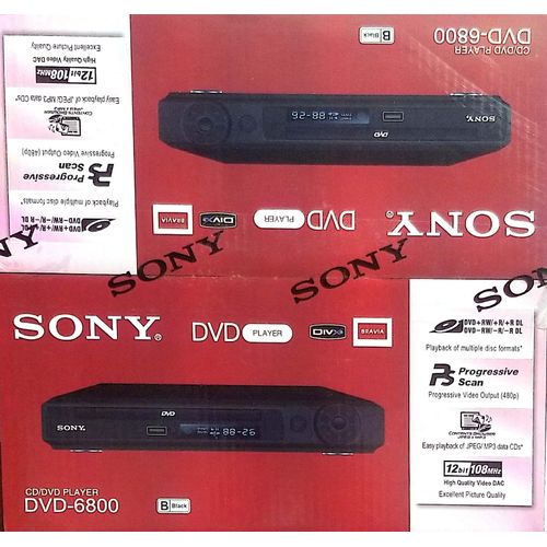 Dvd Player 6800 With Mp3 And USB Port