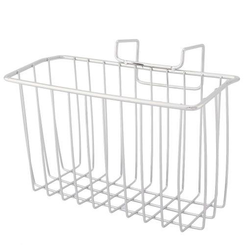 Stainless Steel Kitchen Drain Basket Sink Holder Storage Rack For Soap Wash Cloth