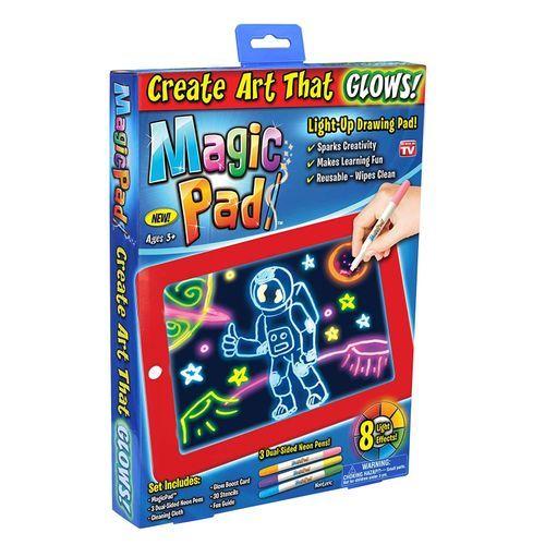 Magic Pad 3D Light Up LED Kids, Children, Drawing, Gift,Tablet
