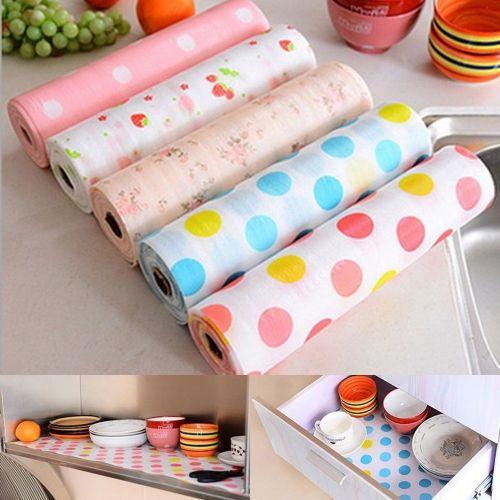 Attractive 3M Kitchen Table Drawer Shelf Liner Waterproof Sticker,,,,,,,,