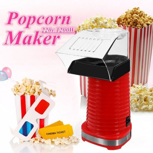 1200W Electric Hot Air Popcorn Maker Popping Machine Mini Household Corn Popper