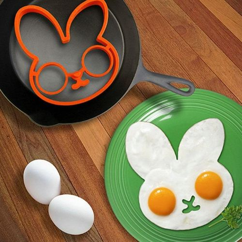 Silicone Rabbit Shape Egg Ring Cooking Mould Breakfast Pan Cake Mould