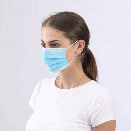 Protective Face Mask - Medical/Surgical 50pcs Pack