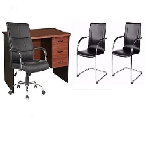 Galaxy Office Table And Chairs Set (delivery Within Lagos