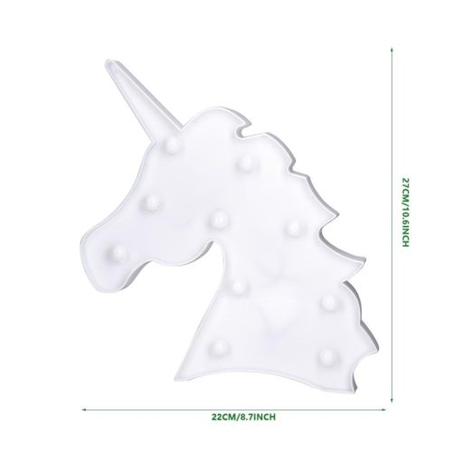 3D Illusion Lamp,Christmas Tree Coconut Pineapple Unicorn Night Light 3D Shape LED Lamp For Festival And Room Decoration And Kids Night Lighting