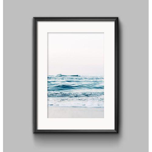 Modern Sea Life Canvas Print Painting Ocean World Art Poster Home Wall Decor - 30*40cm