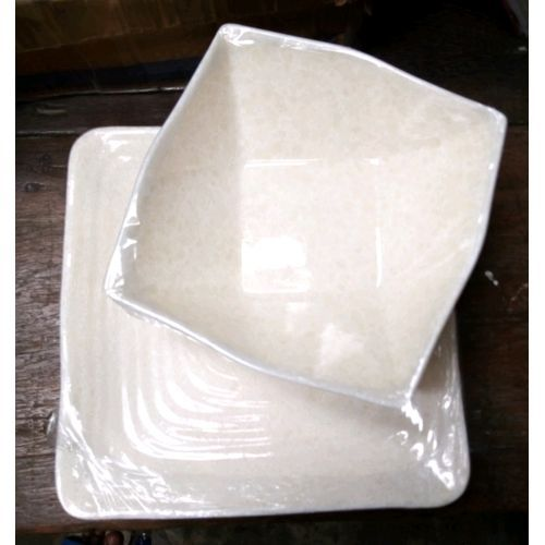 12set Unbreakable 6 Soup Bowl And6 Flat Plate