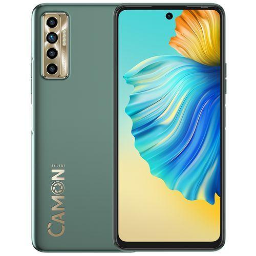 "Camon 17p - 6.8"" FHD+ (6GB RAM, 128GB ROM) Android 11 - 64MP Quad Rear + 16MP Selfie - 5000mAh - 4G LTE - Spruce Green"