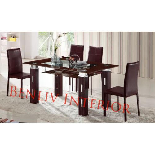 Dining Table Set With Siting Chairs