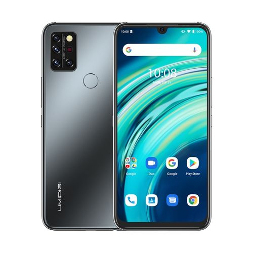 A9 Pro, 6GB+128GB, 6.3 Inch Android 10, 4G Smartphone - Black